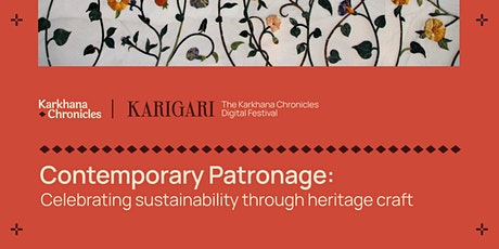 Contemporary Patronage: Celebrating sustainability through heritage craft tickets