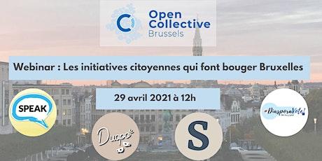 Les initiatives citoyennes qui font bouger Bruxelles tickets