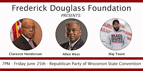 An Evening with Allen West, Clarence Henderson & Maj Toure tickets