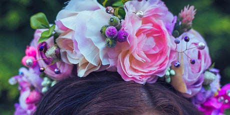Fresh flower crown making workshop tickets