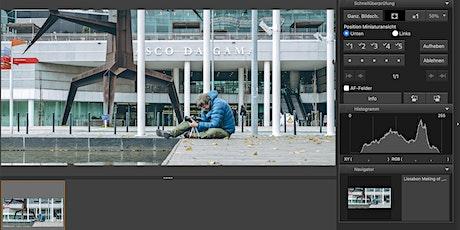 Die Canon Software optimal einsetzen - DPP - EOS Utility - Camera Connect Tickets