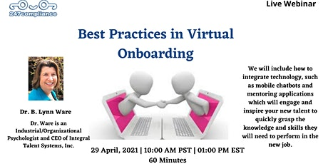 Best Practices in Virtual Onboarding ingressos