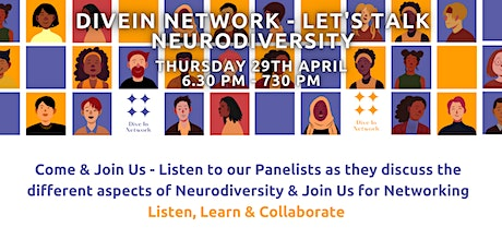 Let's talk NeuroDiversity tickets