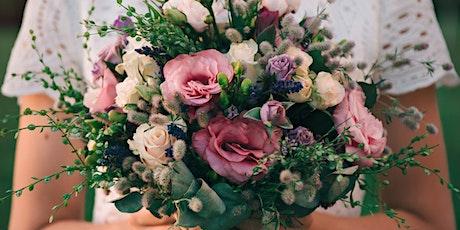 Fresh flower bouquet making workshop tickets