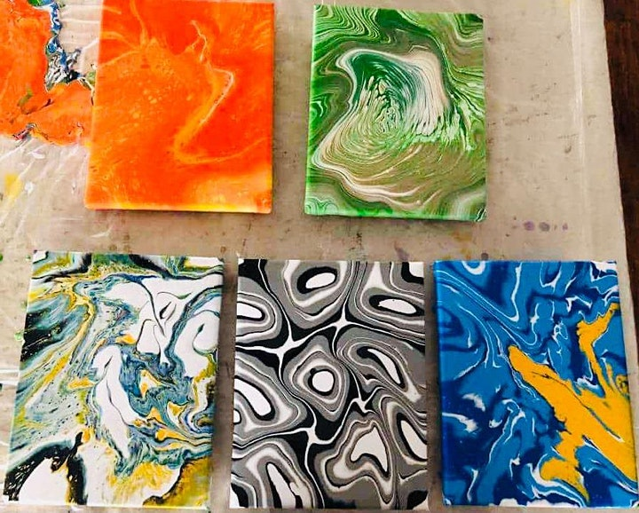 Acrylic Pour-Beginner's Session image