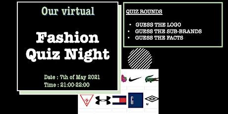Fashion Quiz Night tickets