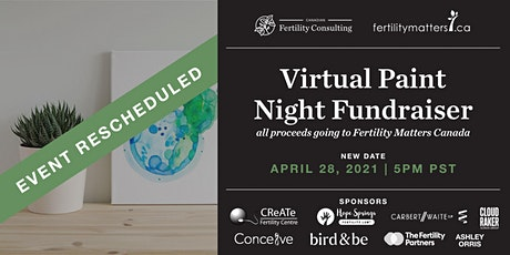 Virtual Paint Night Fundraiser for Infertility Awareness Week tickets