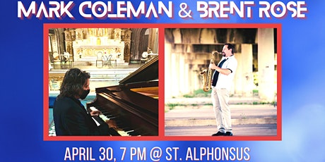 Mark Coleman & Brent Rose Piano & Sax Duets tickets