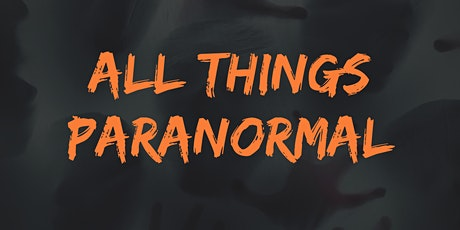Join us to talk about the paranormal! tickets
