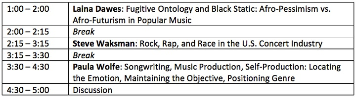 Afro-Futurism. Arena Rap. The Self-Producer.  A Popular Music Research Day image