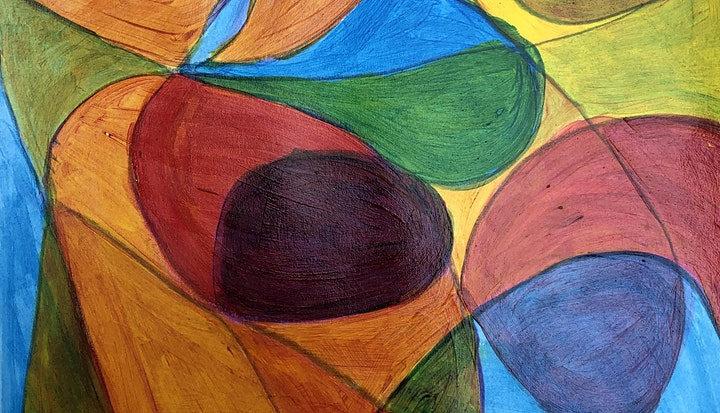 4 spaces left - Abstraction painting & drawing Workshop - book now, £95 image