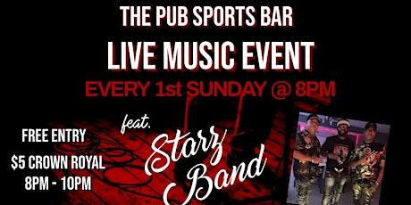 Starz Band Live tickets