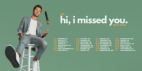 Jake Miller - hi, i missed you tour 2021 - Toronto, Canada tickets