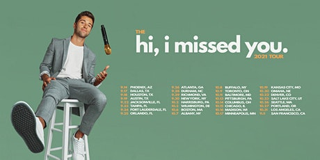 Jake Miller - hi, i missed you tour 2021 - Pittsburgh, PA tickets