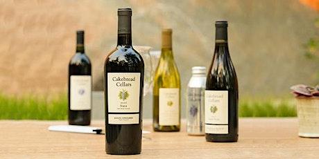 Cakebread Cellars Wine Tasting tickets