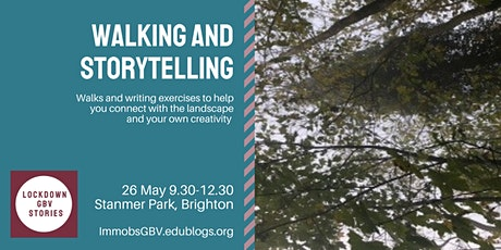 Walking and Storytelling tickets