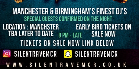 RAVE IN SILENCE HEADPHONE PARTY - MANCHESTER'S BIGGEST HEADPHONE PARTY tickets