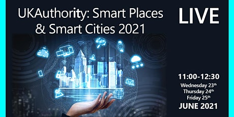 UKAuthority Smart Places, Smart Cities 2021 entradas