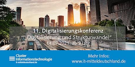 11. Online-Digitalisierungskonferenz: Digitalisierung und Strukturwandel Tickets