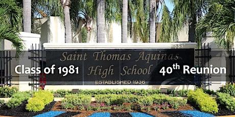 40th Reunion - St. Thomas Aquinas High School Class of 1981 tickets