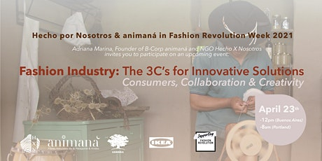 The  3Cs for Innovative Solutions in the Fashion Industry tickets