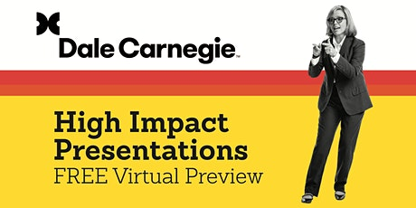 High Impact Presentations-FREE Course Preview tickets