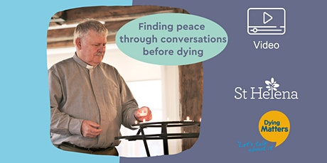 Finding peace through dying, death and bereavement tickets