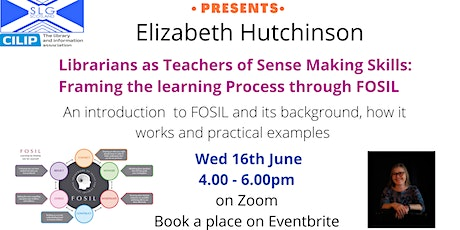 Librarians as Teachers of Sense Making Skills with Elizabeth Hutchinson tickets