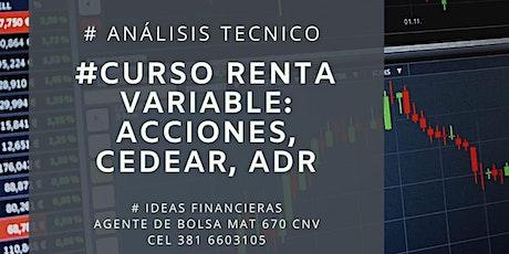 Curso de Análisis Técnico (Renta Variable): Acciones, Cedear, ADRs entradas