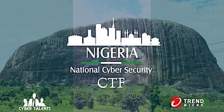 Nigeria National Cybersecurity CTF 2021 tickets