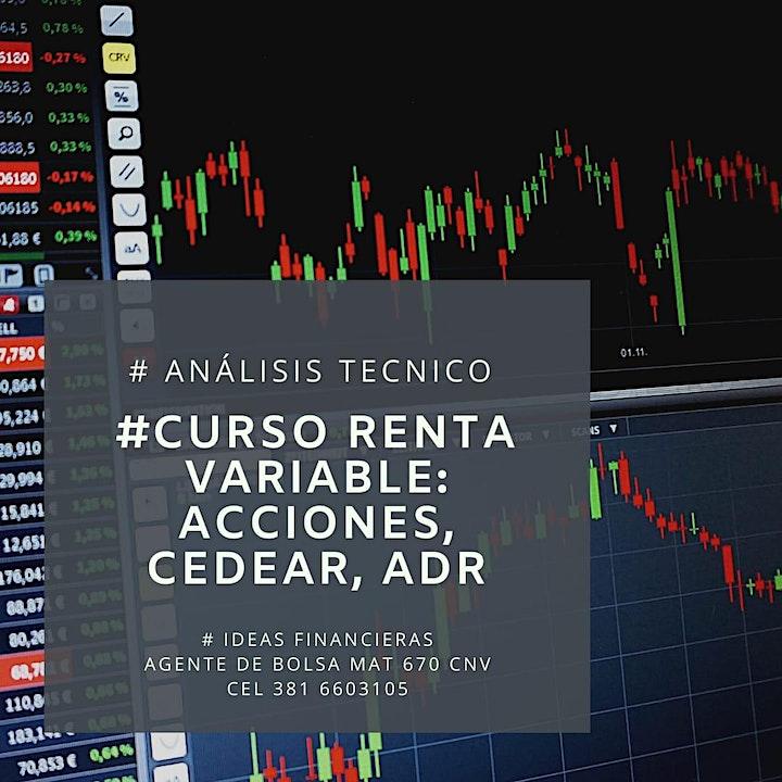 Imagen de Curso de Análisis Técnico (Renta Variable): Acciones, Cedear, ADRs