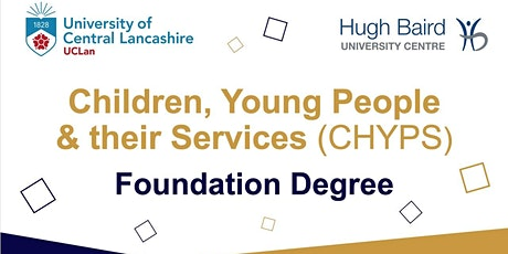 Meet the Tutor - Children, Young People and their Services Degree Courses tickets