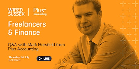 Breakfast Session | Freelancers & Finance | Q&A with Plus Accounting tickets