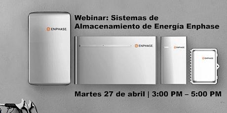 Webinar: Sistemas de Almacenamiento de Energía Enphase entradas