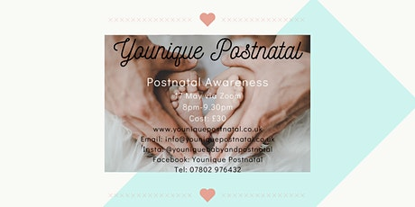 Postnatal Awareness tickets