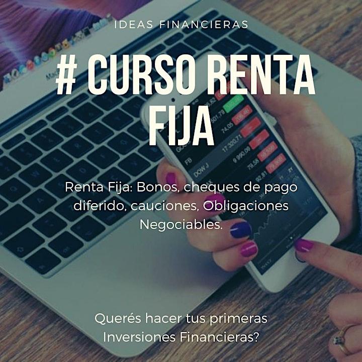 Imagen de Curso Renta Fija: Bonos, Obligaciones Negociables y otros activos de RF.