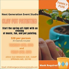 Clap Pot Painting tickets