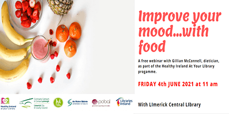 Improve Your Mood With Food with Gillian McConnell (Inside Out Nutrition) tickets