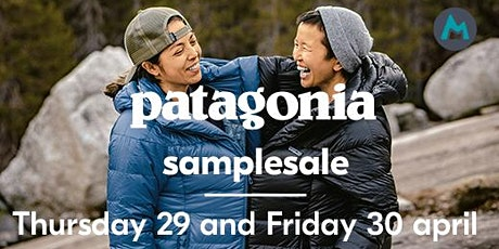 Patagonia® sample sale (29/04 - 30/04/2021) tickets