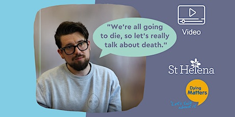 """We're all going to die, so let's really talk about death."" tickets"