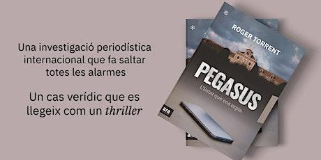 Presentació del llibre PEGASUS de Roger Torrent entradas