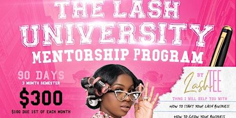 The Lash University Mentorship Program tickets