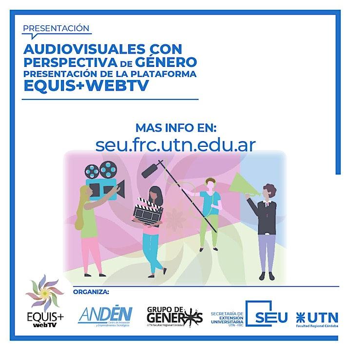 """Imagen de Plataforma """"EQUIS+webTV"""" - Audiovisuales con perspectiva de género"""