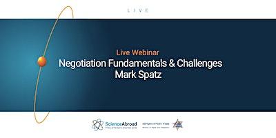 Webinar: Negotiation Fundamentals & Challenges