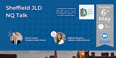 Sheffield Junior Lawyers Division NQ Talk tickets