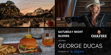 SATURDAY NIGHT SLIDERS FEATURING GEORGE DUCAS | BULVERDE, TX tickets