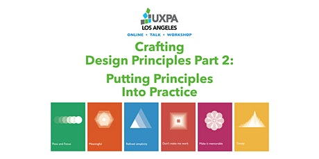 Crafting Design Principles Part 2 - Putting Principles Into Practice tickets