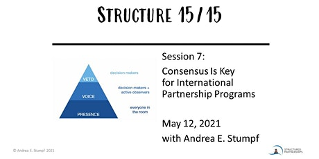 Structure 15/15: Talk About International Partnership Programs! tickets