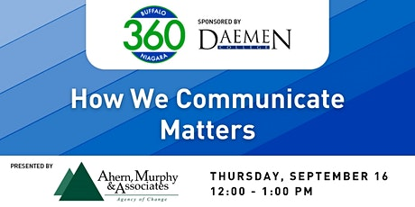 BN360 Event: How We Communicate Matters tickets