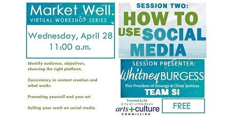 Market Well - How to use Social Media tickets
